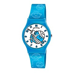 Mr Men - Kids' Mr Bump patterned PU strap analogue watch