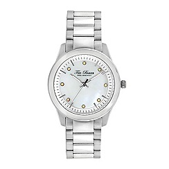 Ted Baker - Ladies stainless steel analogue watch