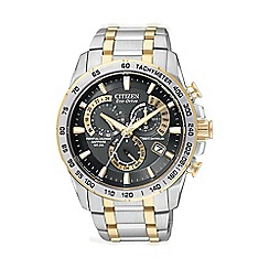 Citizen - Men's perpetual chronograph watch at4004-52e