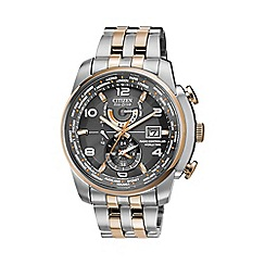 Citizen - Men's world time watch at9016-56h