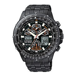 Citizen - Men's skyhawk black watch