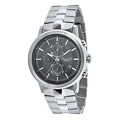 Kenneth Cole - Men's stainless steel chronograph watch