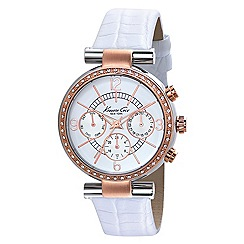 Kenneth Cole - Ladies stainless steel multi-function watch