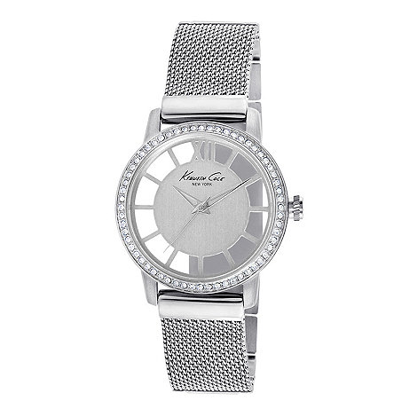 Kenneth Cole - Ladies stainless steel analogue watch