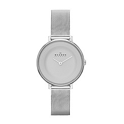 Skagen - Womens 'Ditte' steel mesh watch