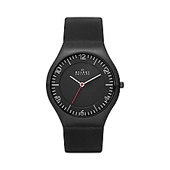 Skagen - Mens 'Grenen' leather watch