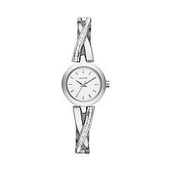DKNY - Ladies stainless steel crosswalk crystal watch