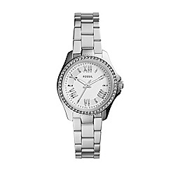 Fossil - Ladies mini Cecile three-hand watch in silver-tone