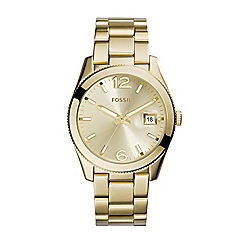 Fossil - Ladies perfect boyfriend watch in gold-tone
