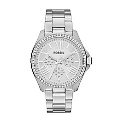 Fossil - Ladies Cecile three-hand watch in silver-tone