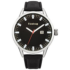 Firetrap - Gent's black strap watch