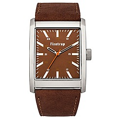 Firetrap - Gent's brown strap watch