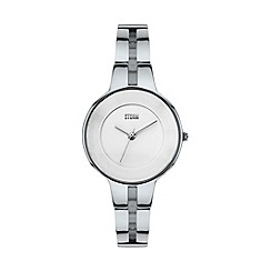 STORM - Ladies white slim bangle watch