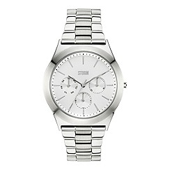 STORM - Ladies silver multifunction bracelet watch