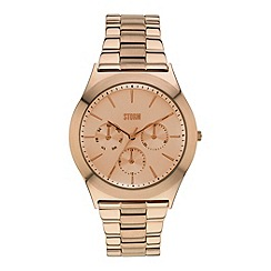 STORM - Ladies rose gold multifunction bracelet watch