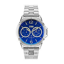 STORM - Men's lazer blue multifunctionl bracelet watch