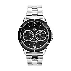 STORM - Men's black multifunction bracelet watch