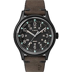 STORM - Men's bronze multi layer dial & date bracelet watch