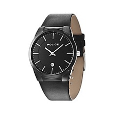 Police - Men's black strap watch