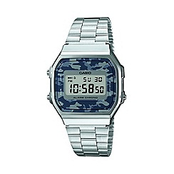 Casio - Casio camouflage retro watch