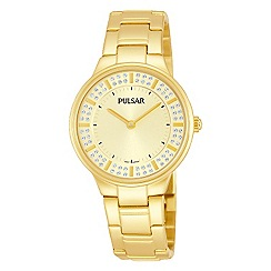 Pulsar - Ladies gold bracelet dress watch