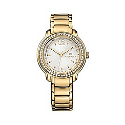 Tommy Hilfiger - Ladies quartz gold plated bracelet watch
