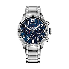 Tommy Hilfiger - Men's chronograph stainless steel bracelet watch 1791053