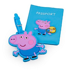 George Pig - George pig luggage tag
