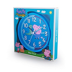 George Pig - George pig wall clock