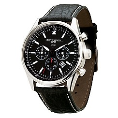 Jorg Gray - Mens black chronograph strap watch