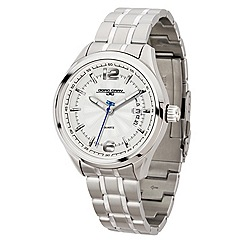 Jorg Gray - Mens stainless steel 3 hand bracelet watch.