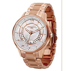 Jorg Gray - Ladies mother of pearl dial rose gold bracelet watch