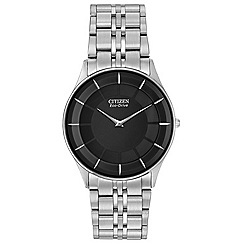 Citizen - Men's silver tone 'Stiletto' bracelet watch