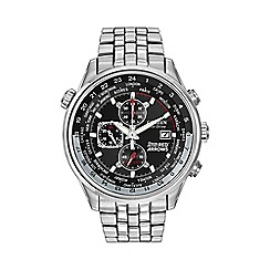 Citizen - Men's silver tone Red Arrows chronograph bracelet watch ca0080-54e