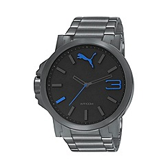 Puma - Men's Grey 'Ultrasize' bracelet watch