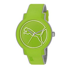 Puma - Unisex Blue 'Swing' lightweight watch with plastic strap