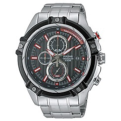 Pulsar - Men's WRC chronograph blet watch