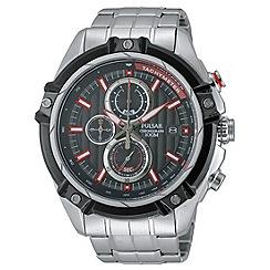 Pulsar - Men's WRC chronograph blet watch