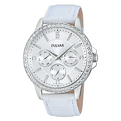 Pulsar - Ladies multidial strap watch