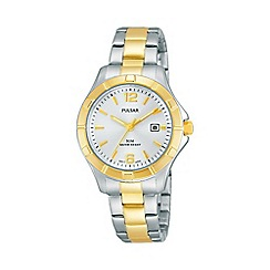 Pulsar - Ladies two tone sports bracelet watch