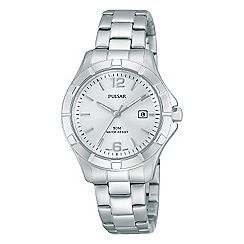Pulsar - Ladies stainless steel sports bracelet watch