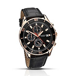 Sekonda - Gents 'Nightfall' chronograph strap watch