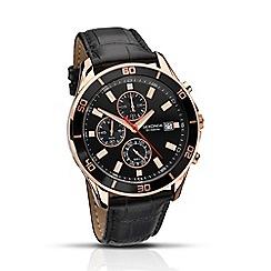 Sekonda - Gents 'Nightfall' chronograph strap watch
