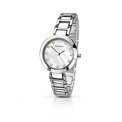 Sekonda - Ladies chrome coloured bracelet watch