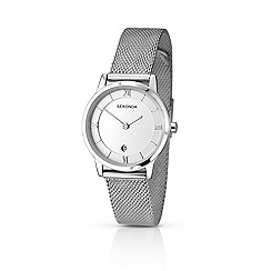 Sekonda - Ladies chrome coloured bracelet watch 2101.28