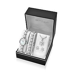 Sekonda - Ladies 4 piece snowflake style gift set 2087g.76