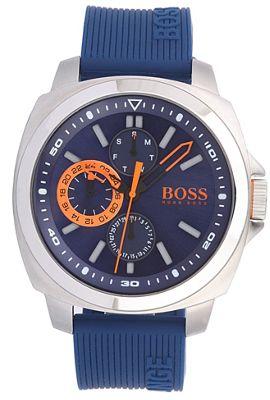 Boss Orange Men´s blue chronograph strap watch - . -