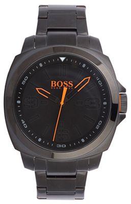 Boss Orange Men´s black quartz bracelet watch - . -