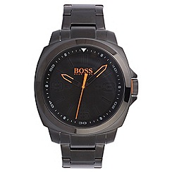 Boss Orange - Men's black quartz bracelet watch
