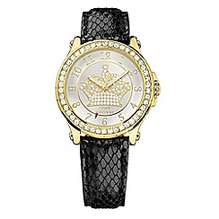 Juicy Couture - Ladies crystal dial strap watch